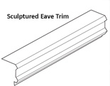 Sculptured Eave Trim